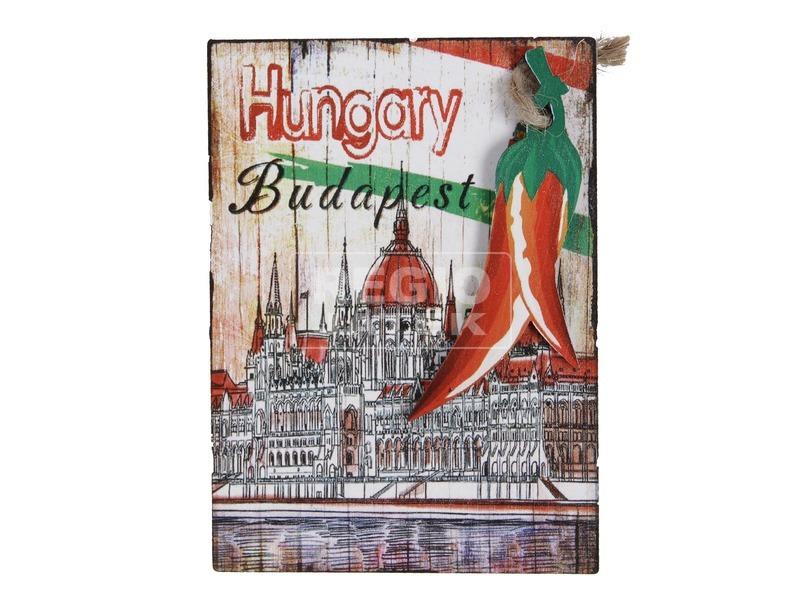 Budapest hűtőmágnes - többféle