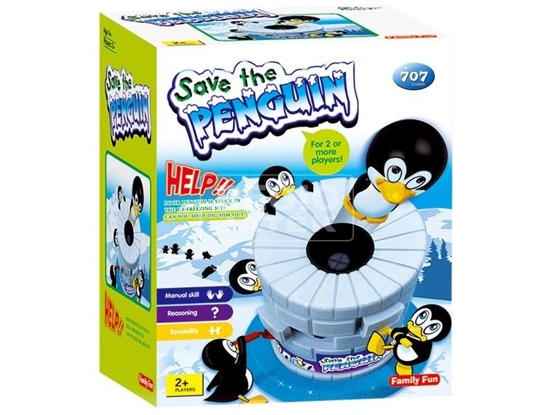 Mentsd meg a pingvint társasjáték