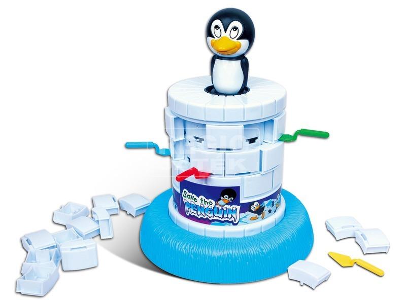 kép nagyítása Mentsd meg a pingvint társasjáték