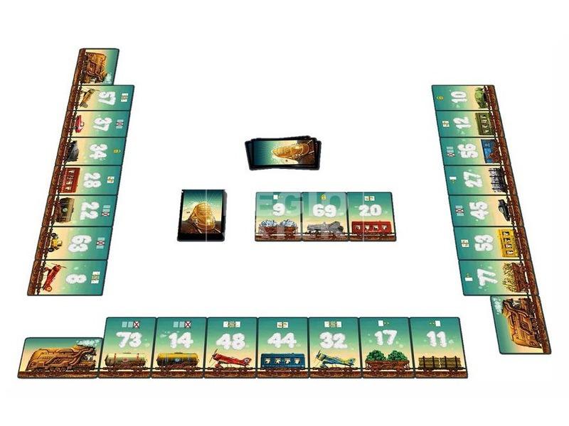 kép nagyítása BG Sínen vagyunk kártyajáték