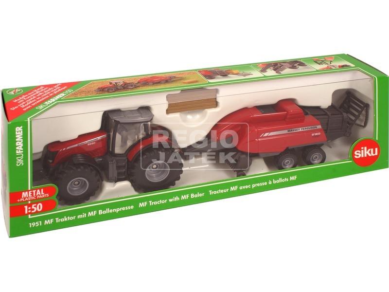 Siku: MF traktor bálázóval 1:50 - 1951