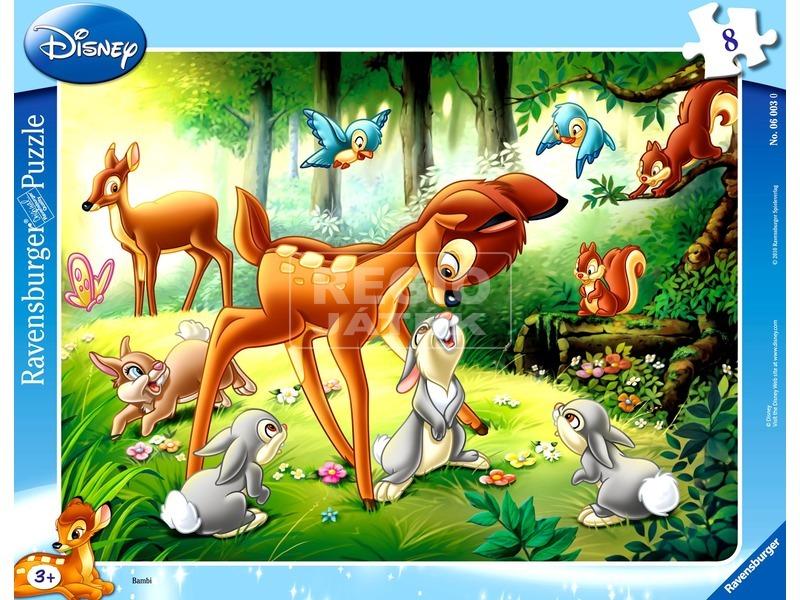 Bambi 8 darabos puzzle