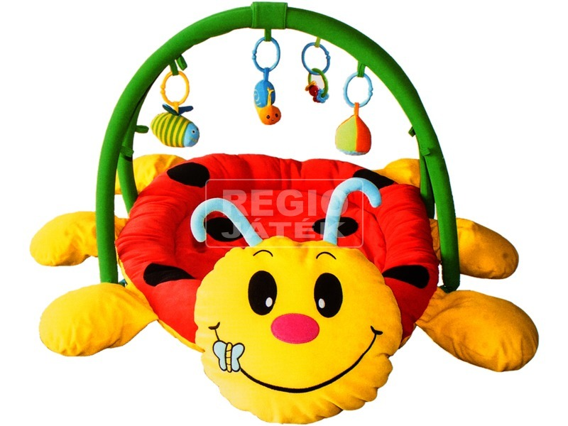 Bébi játszószőnyeg, katicás