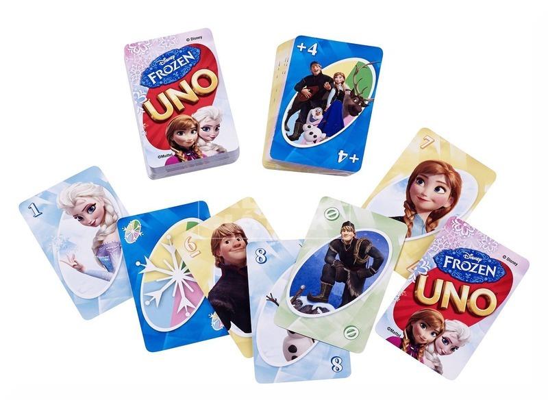 kép nagyítása Jégvarázs UNO kártyajáték