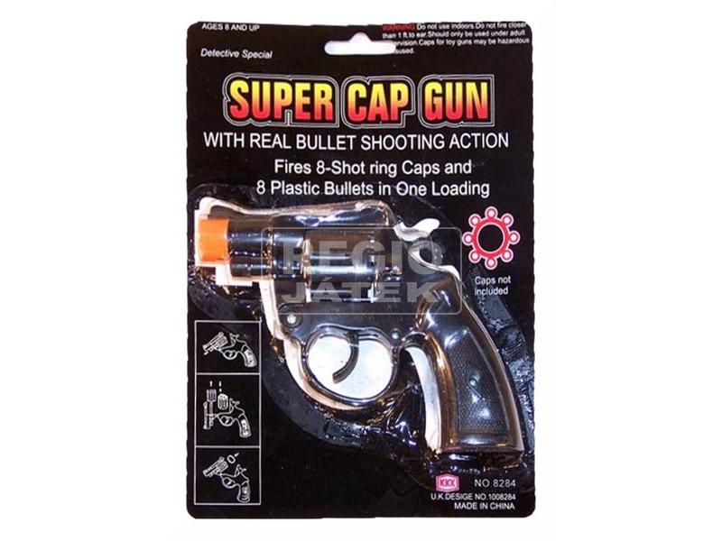 Pisztoly super cap gun forgótáras