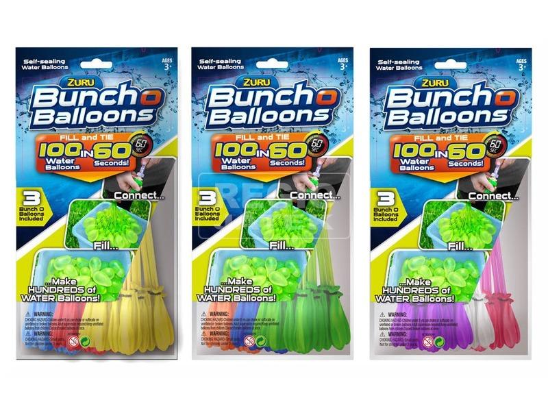 Bunch O Balloons vízilufi készlet - többféle