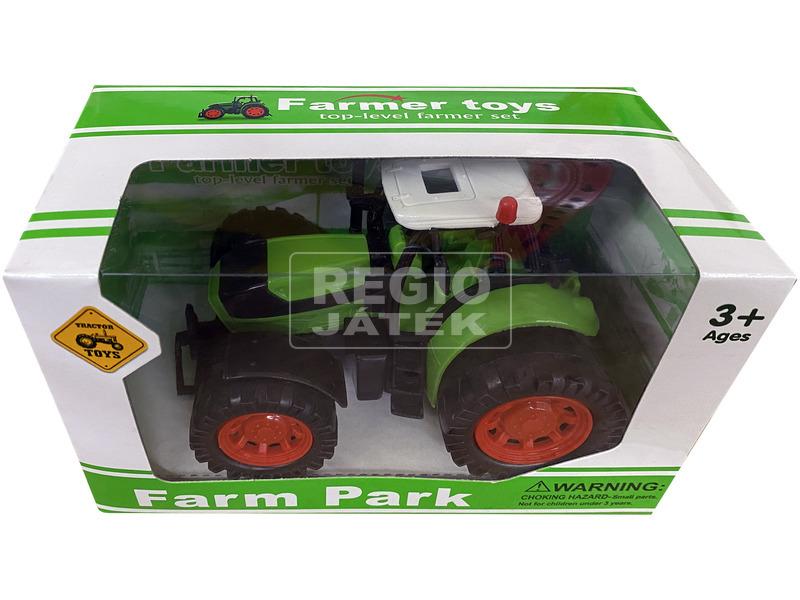 kép nagyítása Műanyag traktor - 13 cm, többféle