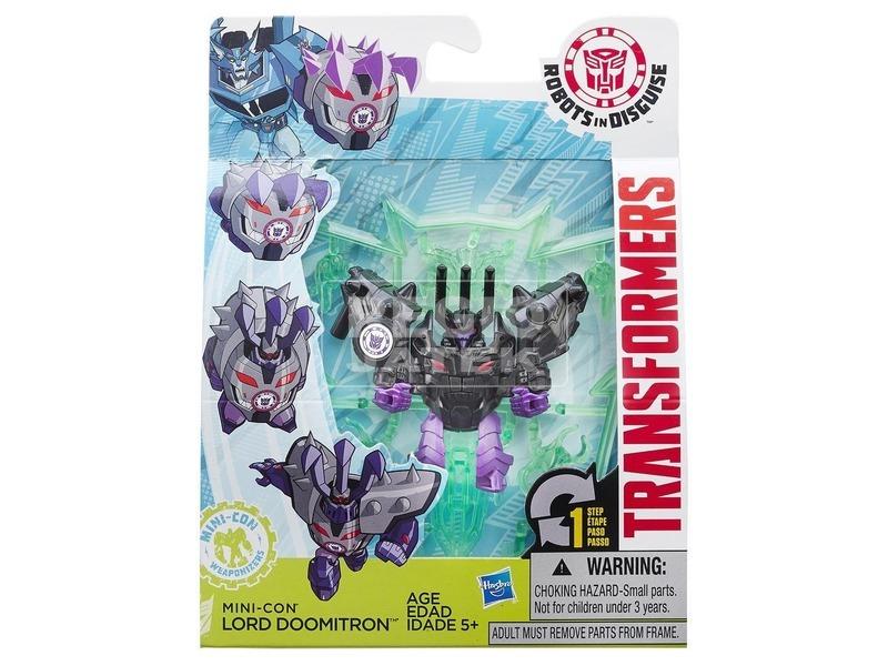 Transformers Álruhás mini robot - 7 cm, többféle