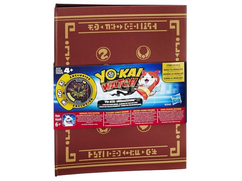 Yo-Kai Watch medál gyűjtőfüzet