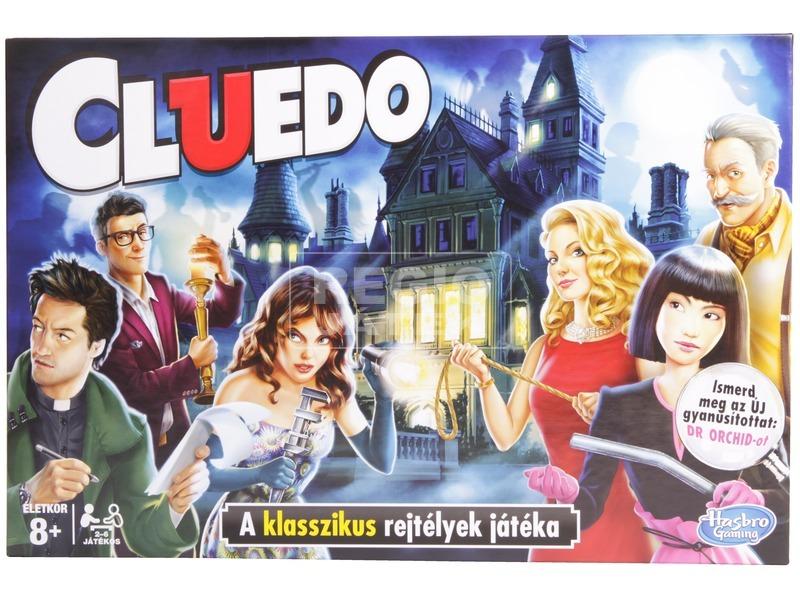 kép nagyítása CLUEDO társasjáték