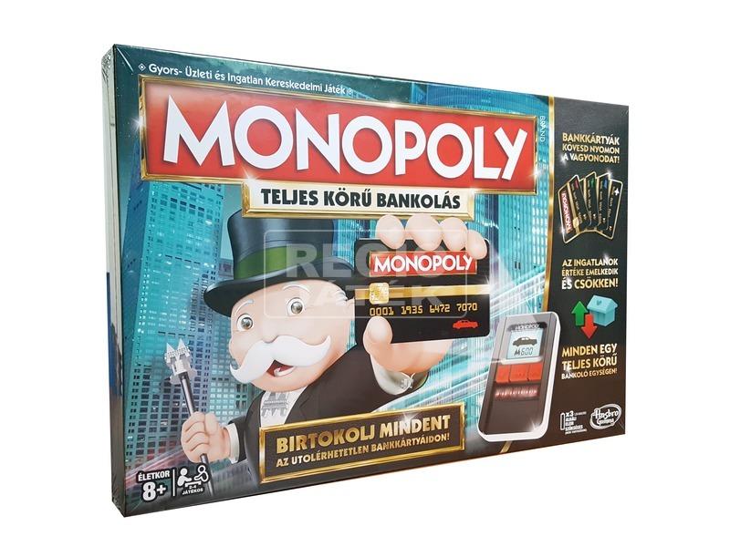 Monopoly - elektronikus bankkártyás kiadás