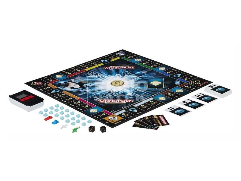 kép nagyítása Monopoly - elektronikus bankkártyás kiadás