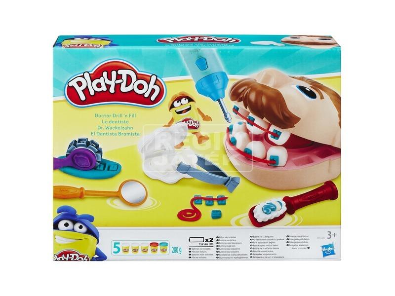 Play-Doh Dr. Drill és Fill fogászat gyurmakészlet