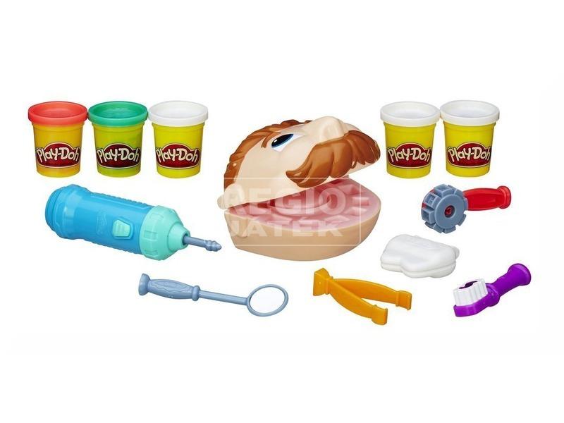kép nagyítása Play-Doh Dr. Drill és Fill fogászat gyurmakészlet