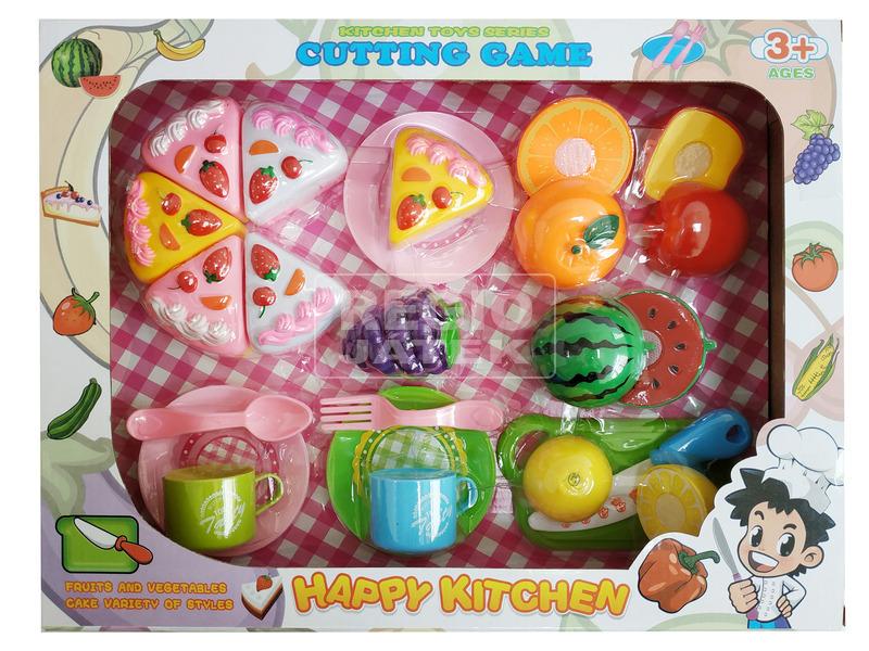 Konyhakészlet vágható ételekkel 25 darabos készlet
