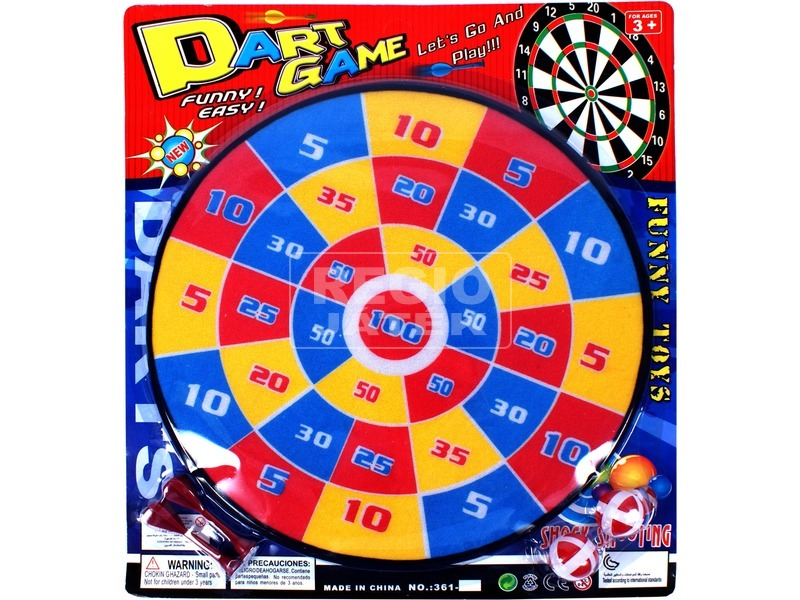 Színes darts tábla - 36 cm