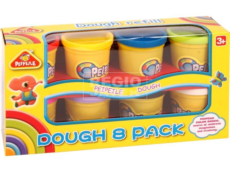 Gyurmakészlet 8 színben