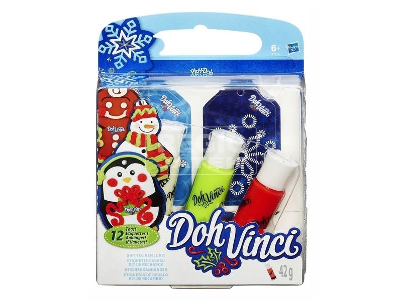 Play-Doh Doh Vinci karácsonyi utántöltő készlet