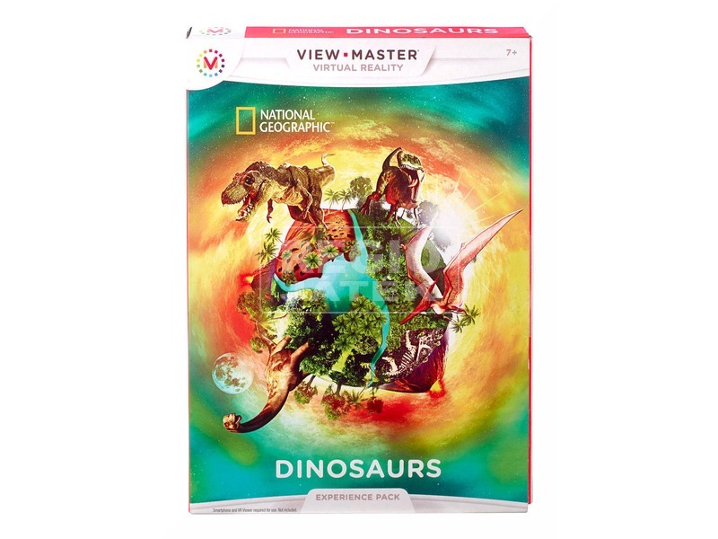 View-Master National Geographic Dinoszaurusz DTN