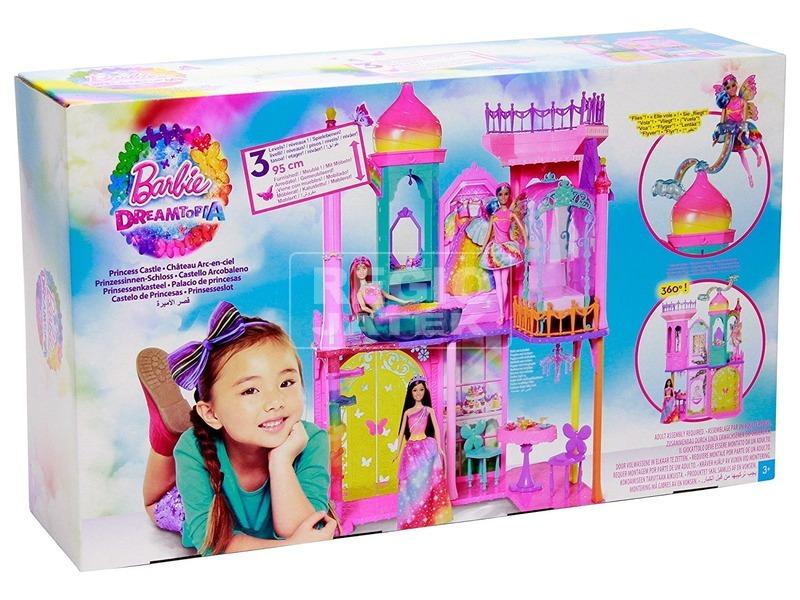 Barbie: szivárványkastély - 95 cm