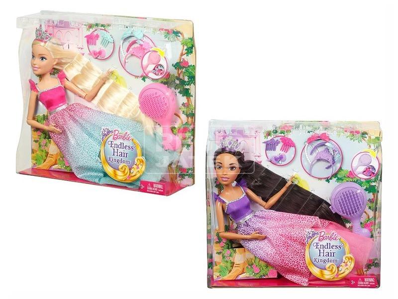 Barbie: Dreamtopia csodahaj óriás baba - többféle