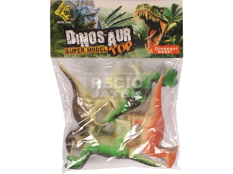 Dinoszaurusz 4 darabos készlet zacskóban