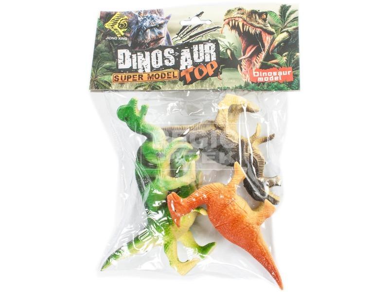 kép nagyítása Dinoszaurusz 4 darabos készlet zacskóban