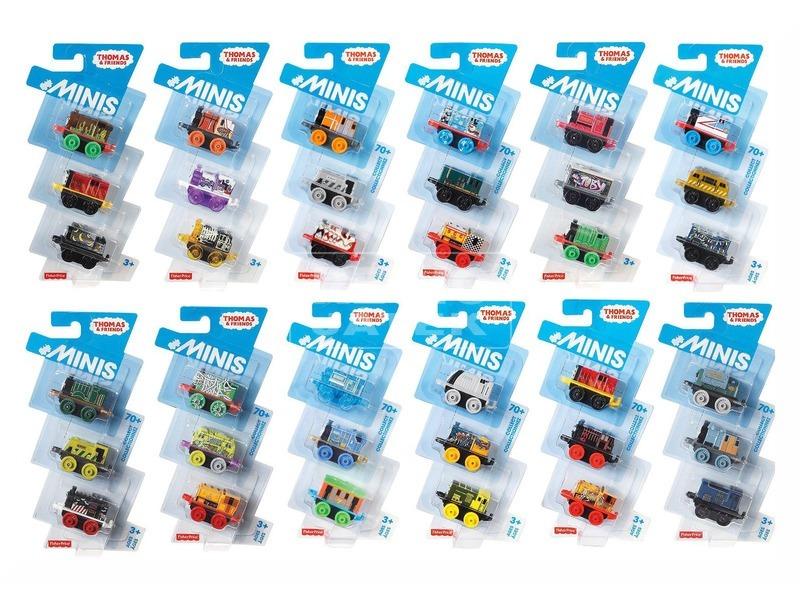 Thomas mini mozdony 3 darabos készlet - többféle