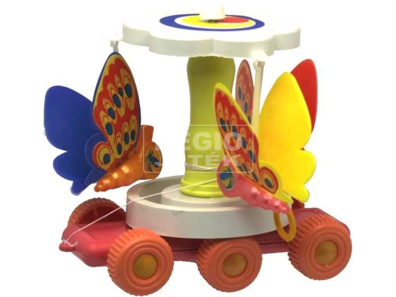 Húzható táncoló pillangó
