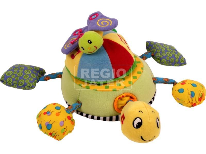 kép nagyítása Kacagó puha teknős bébijáték