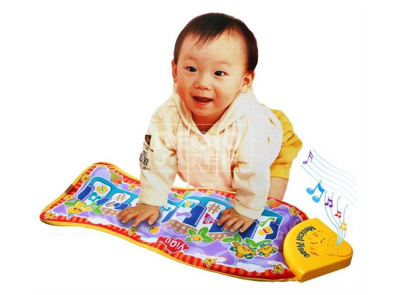 kép nagyítása Zenélő zongorás bébi szőnyeg