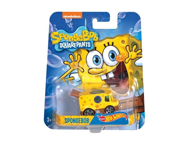 Hot Wheels SpongyaBob kisautó - többféle
