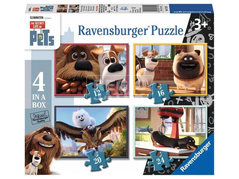 Kis kedvencek 4 az 1-ben puzzle