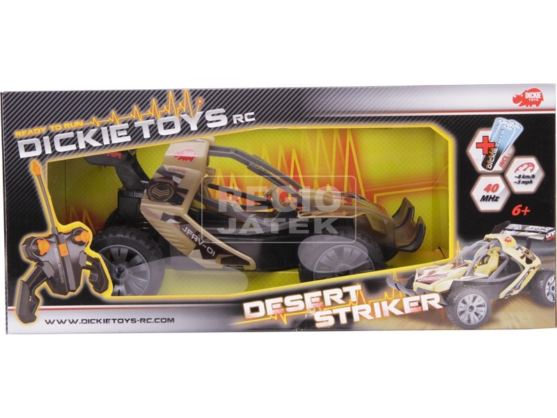 Dickie RC Desert Striker távirányítós autó - 1:16