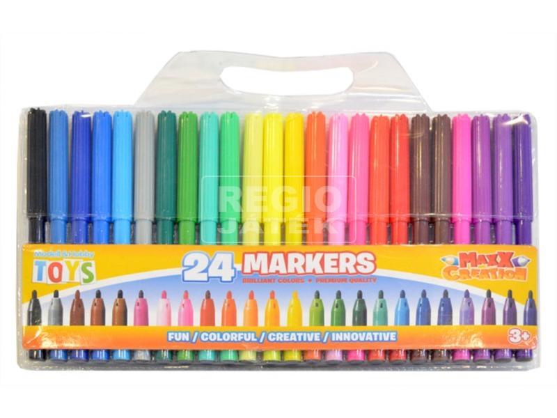 Maxx színes filctoll 24 darabos készlet