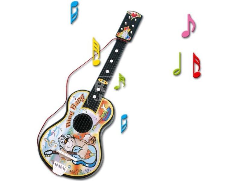 Akusztikus gitár műanyag húrokkal - 68 cm