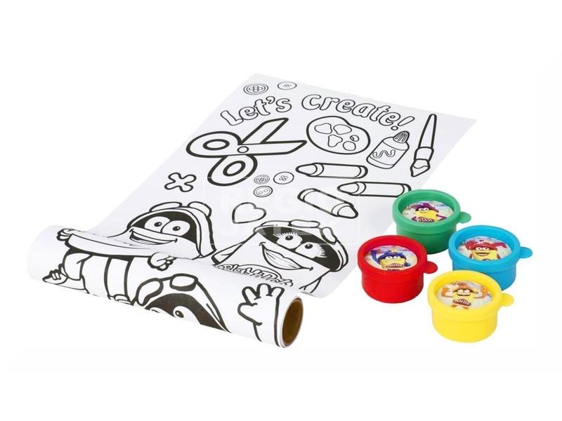 kép nagyítása Play-Doh ujjfesték és rajzlap készlet