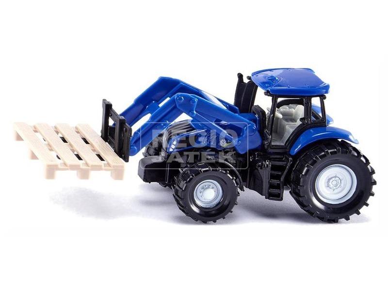 SIKU New Holland traktor emelővel 1:87 - 1487