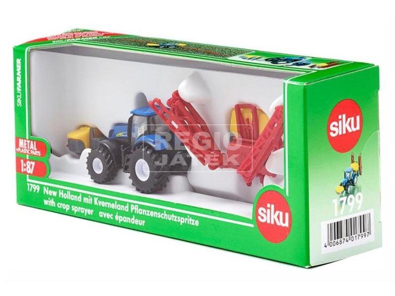 Siku New Holland traktor öntözővel 1:87 - 1799