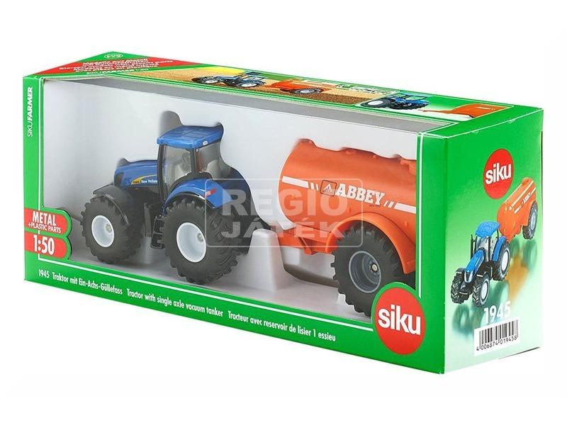 Traktor tankerral