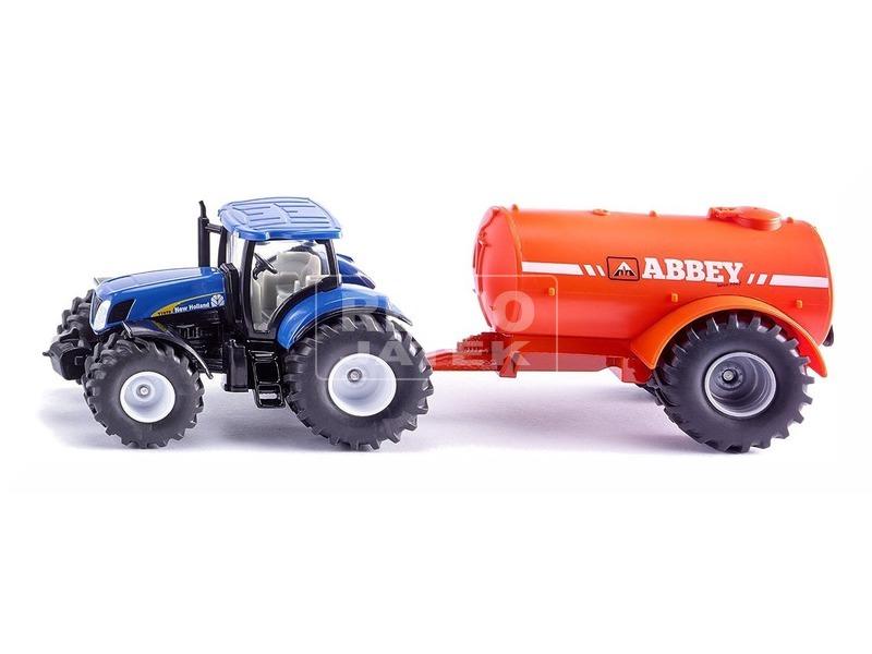 kép nagyítása Traktor tankerral