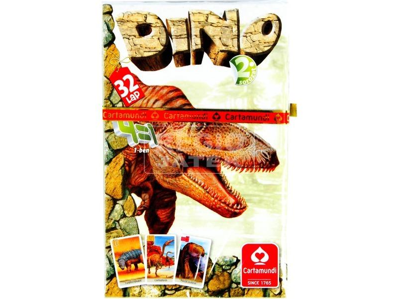 Dínó 4 az 1-ben kártyajáték