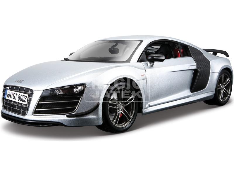 Maisto 1:18 Audi R8 fém modell autó