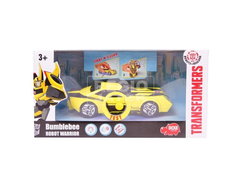 Transformers Bumblebee robot harcos figura - 15 cm