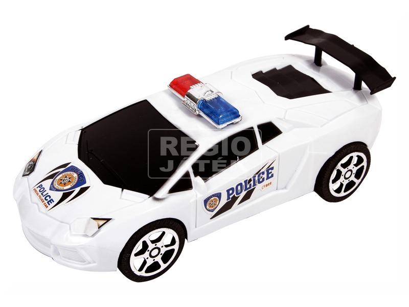 Lendkerekes verseny rendőrautó - 22 cm, többféle