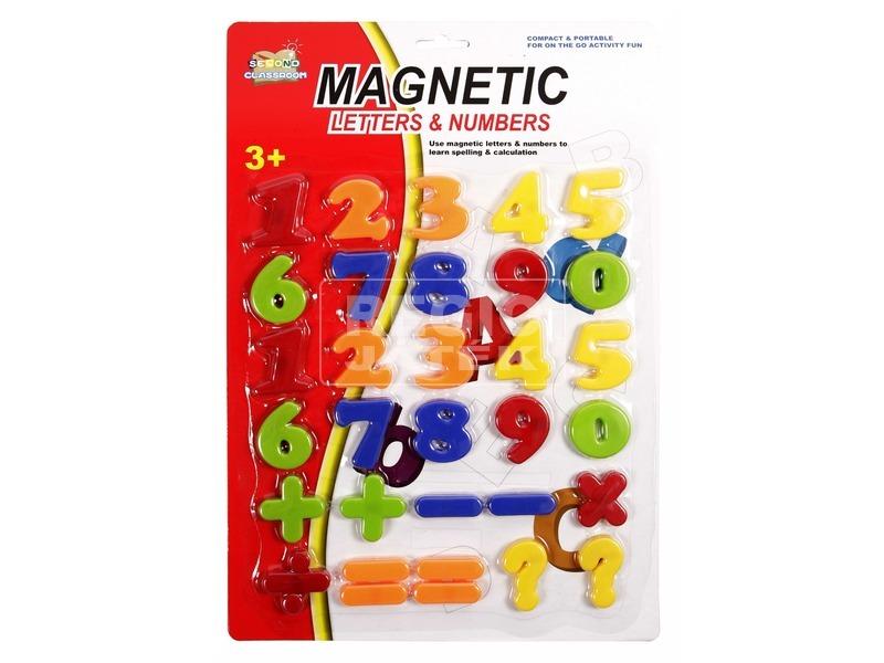 kép nagyítása Mágneses szám készlet - többféle