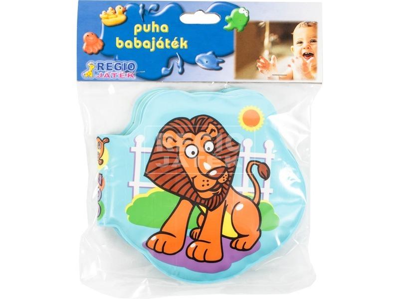 Állatkert pancsolókönyv bébijáték