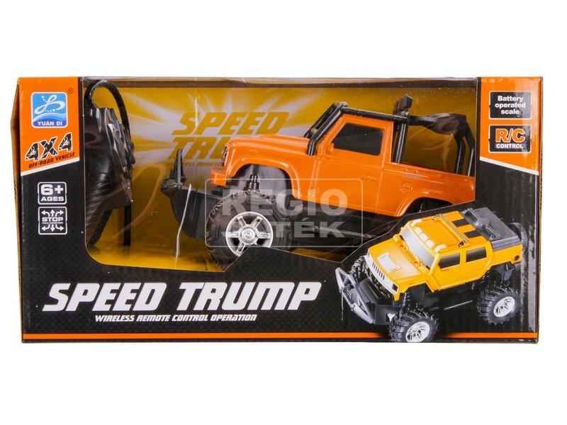 kép nagyítása Speed Trump távirányítós terepjáró - 1:24