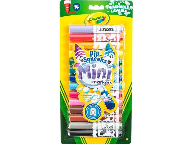 Crayola: 14 darabos vastag mini filctoll