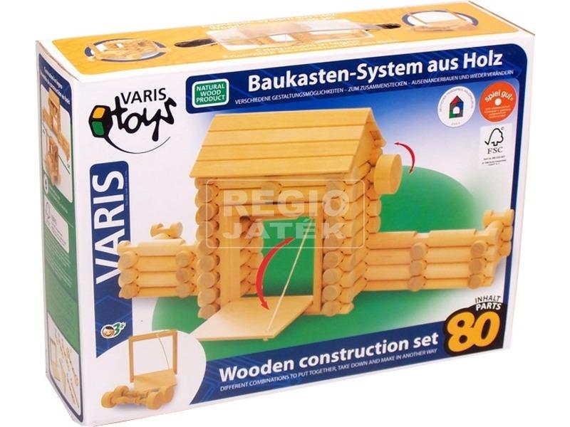 Varis erőd fa építőjáték